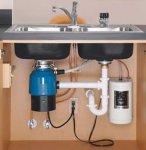 Как установить и где отремонтировать утилизатор пищевых отходов